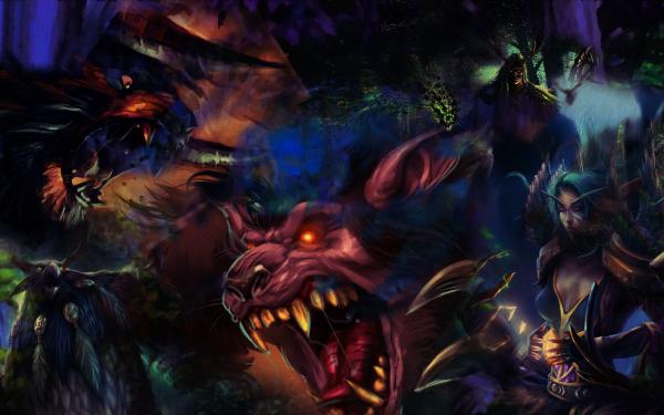 Video Game World Of Warcraft Warcraft Druid Bear Elf Fantasy HD Wallpaper   Background Image