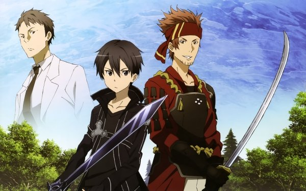 Anime Sword Art Online Kirito Klein Kayaba Akihiko Fondo de pantalla HD | Fondo de Escritorio