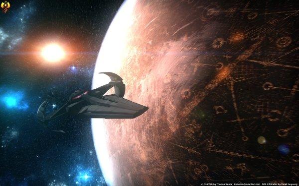 Movie Star Wars Episode I: The Phantom Menace Star Wars Scimitar Starfighter Spaceship HD Wallpaper | Background Image