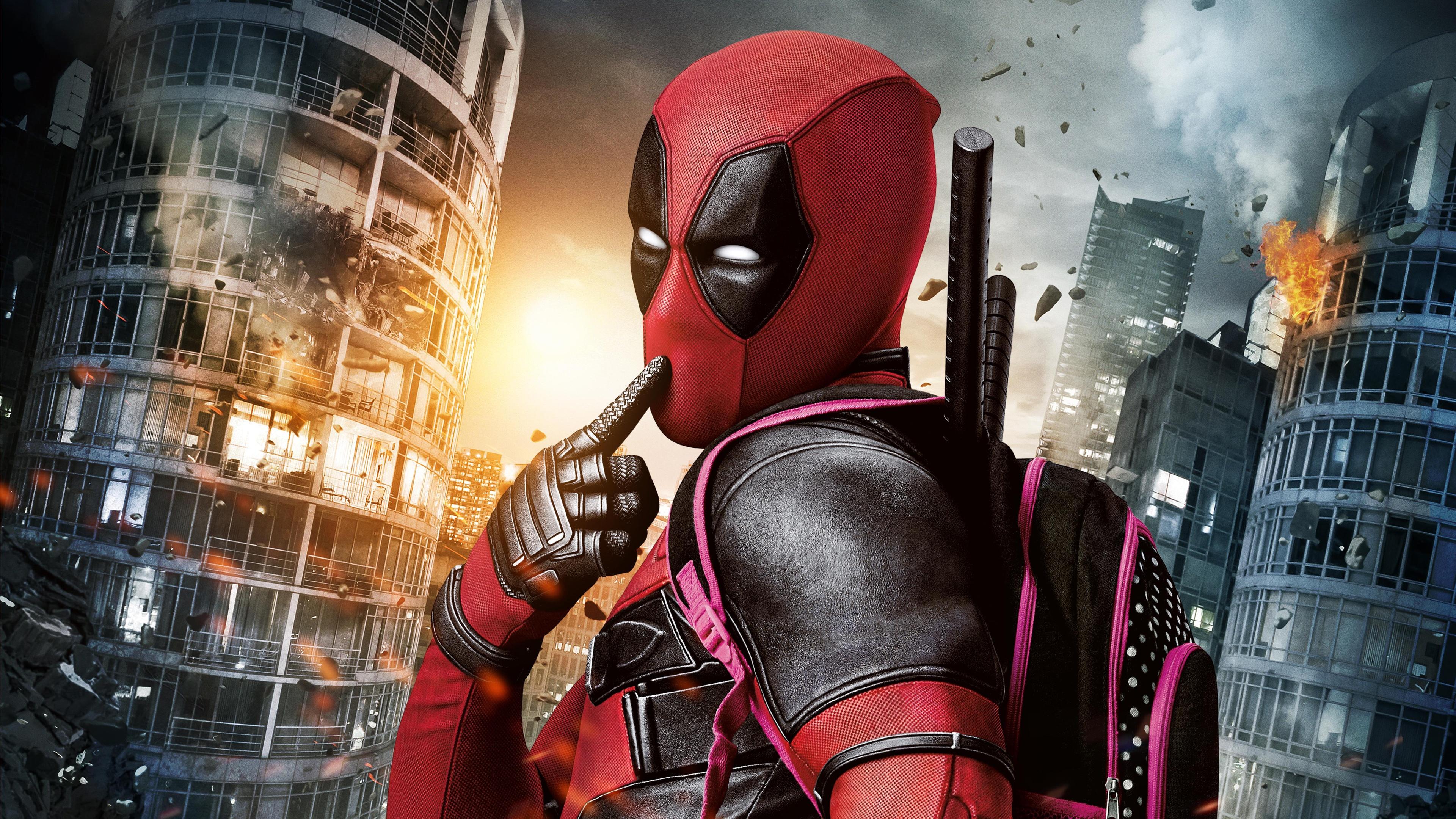 Deadpool 4k Ultra Hd Wallpaper Background Image 3840x2160 Id