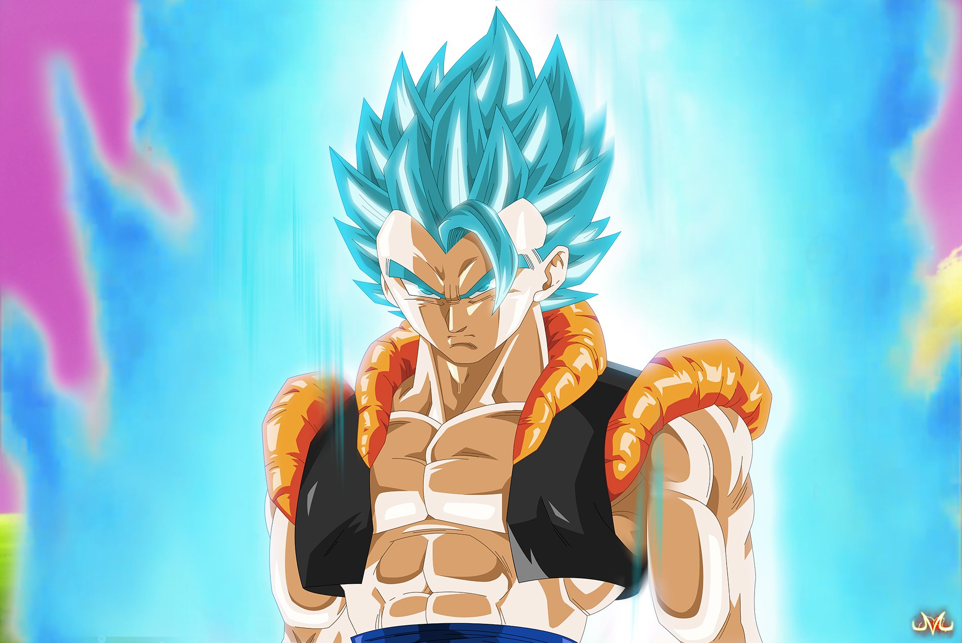 Anime Dragon Ball Super Goku Saiyan Super Saiyan God · HD Wallpaper | Background Image ID:678318
