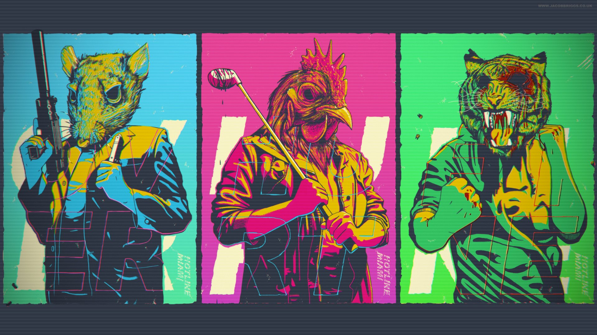 53 Hotline Miami HD Wallpapers