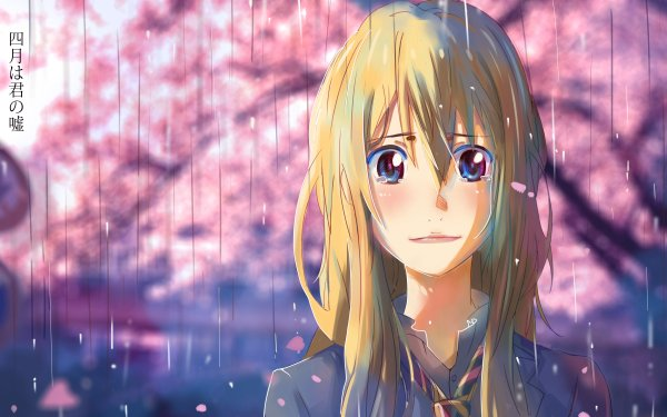 Anime Your Lie in April Kaori Miyazono HD Wallpaper | Background Image