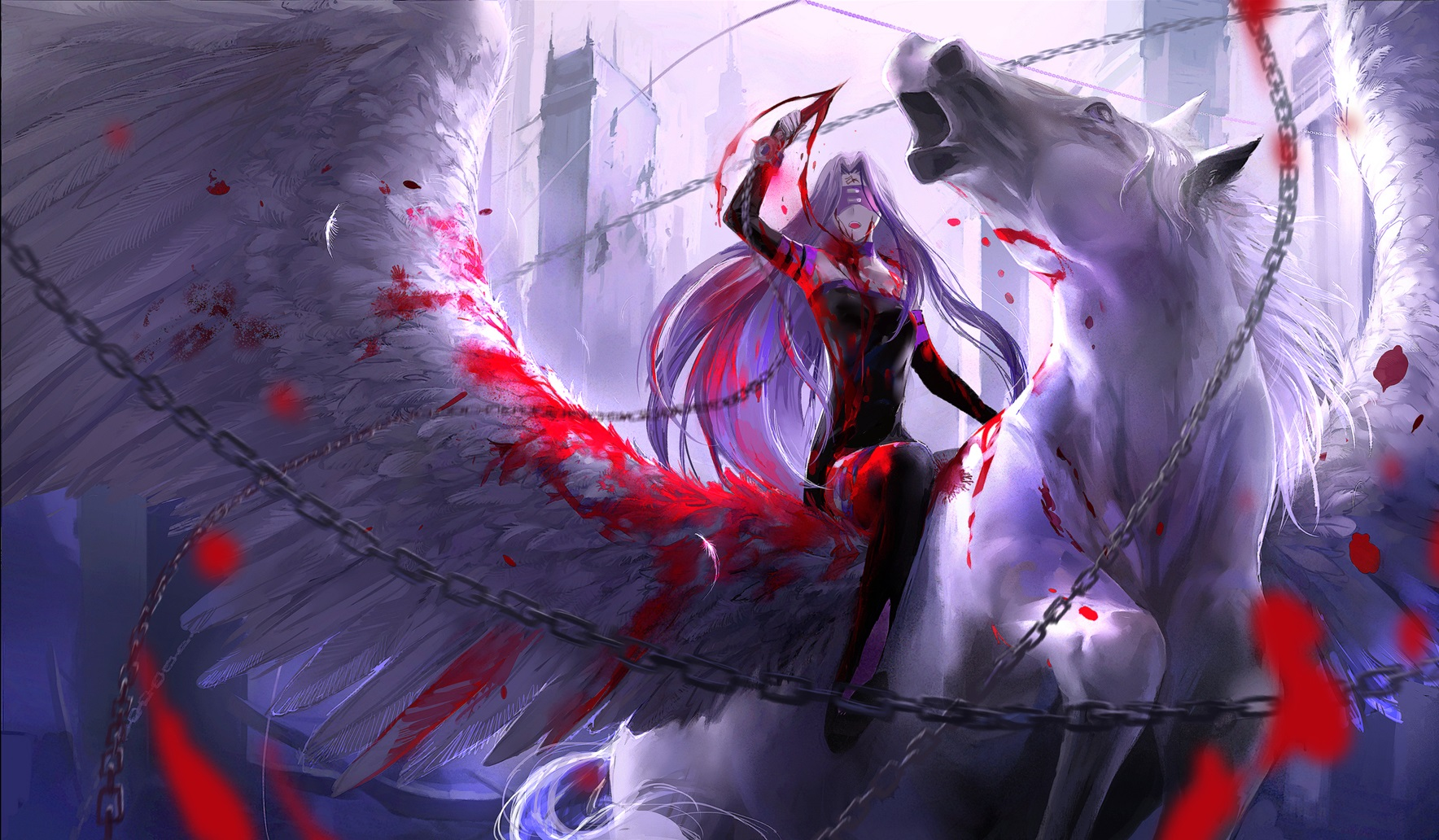Fate/Stay Night Wallpaper and Background Image   1768x1032 ...