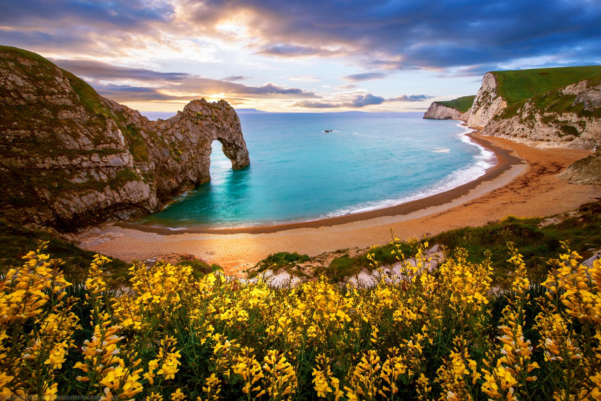Next To Ocean Beach In England