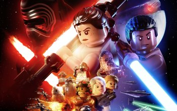 7 Lego Star Wars The Force Awakens Hd Wallpapers Background Images Wallpaper Abyss
