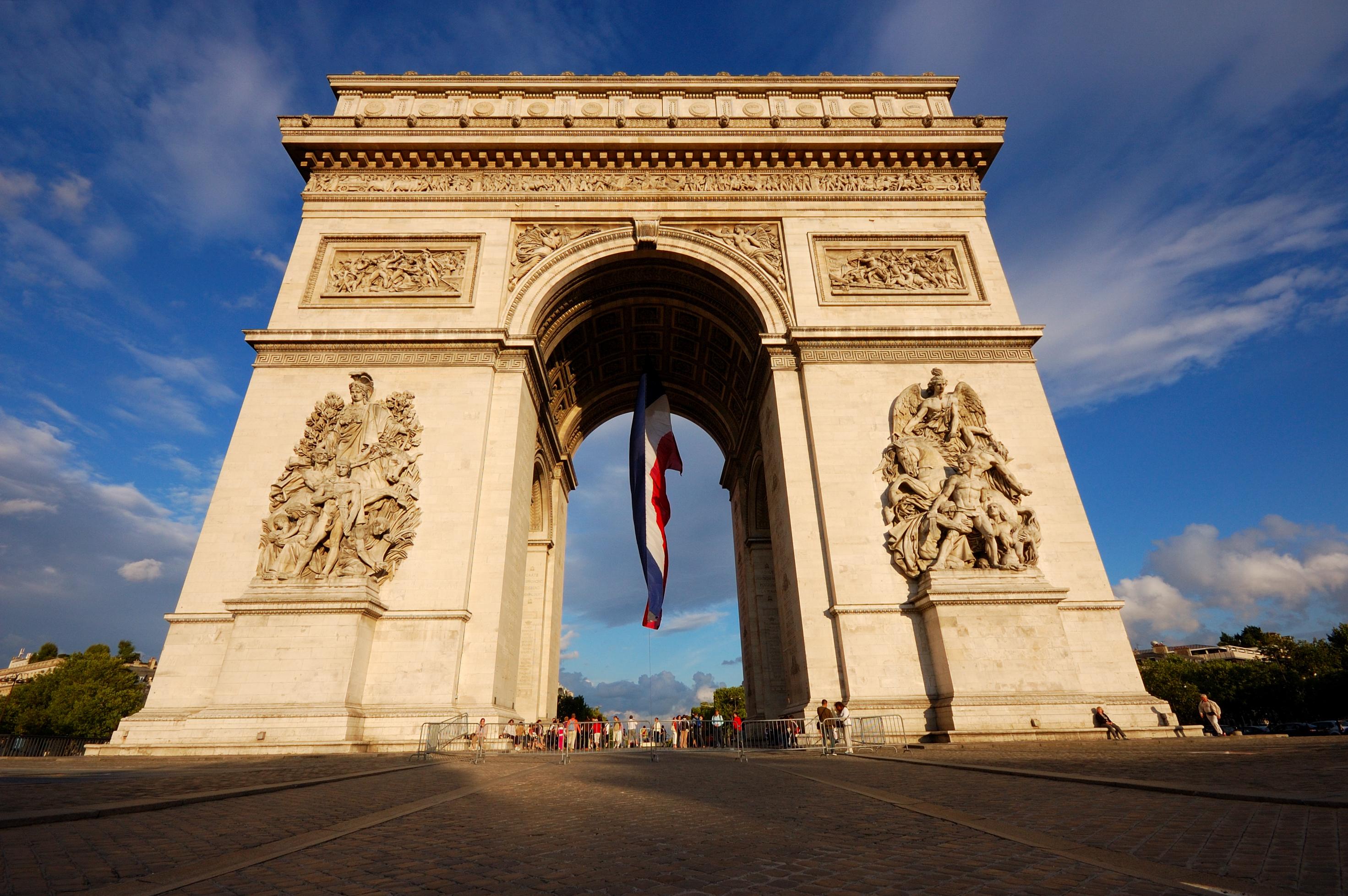 Arc De Triomphe HD Wallpaper