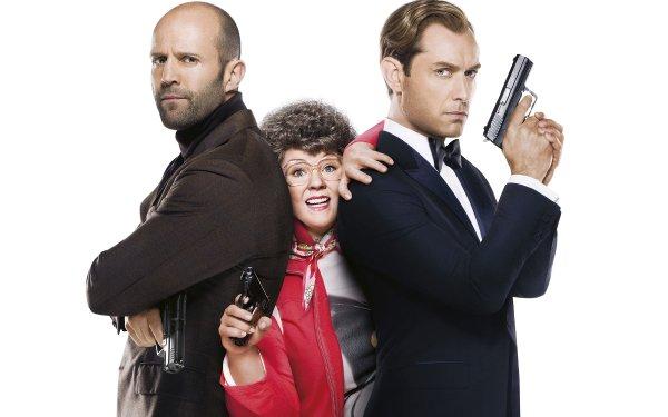 Movie Spy Jason Statham Melissa McCarthy Jude Law HD Wallpaper | Background Image
