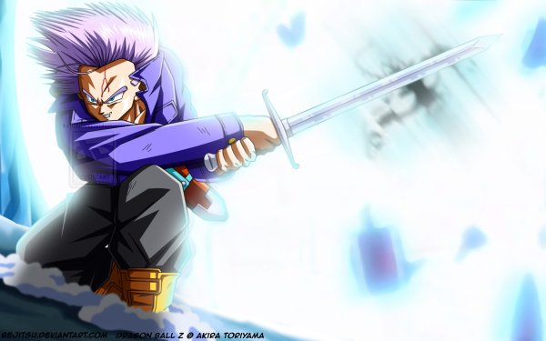 Anime Dragon Ball Z Dragon Ball Trunks HD Wallpaper | Background Image