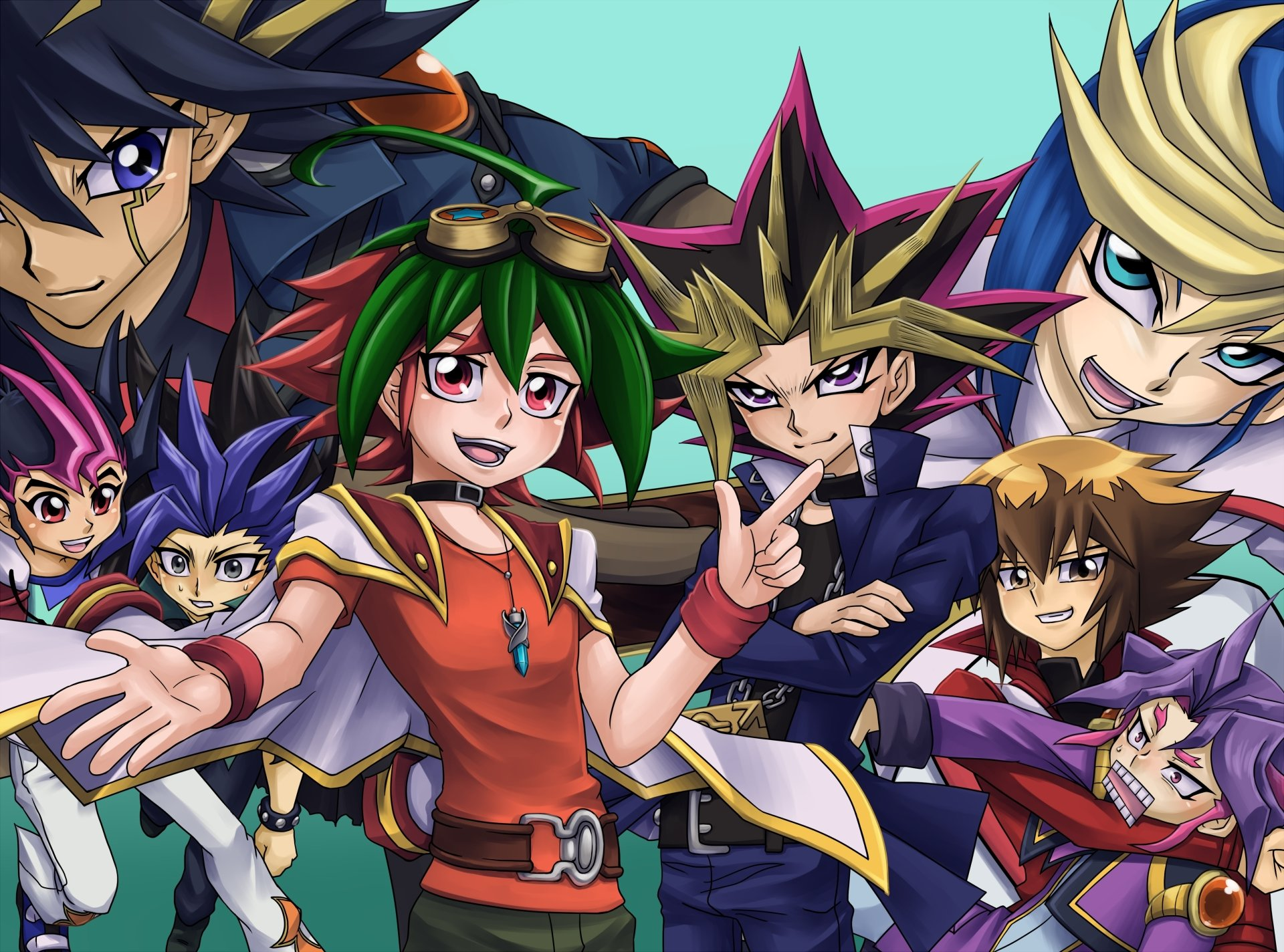 yugioh zexal 4k ultra hd wallpaper and background image