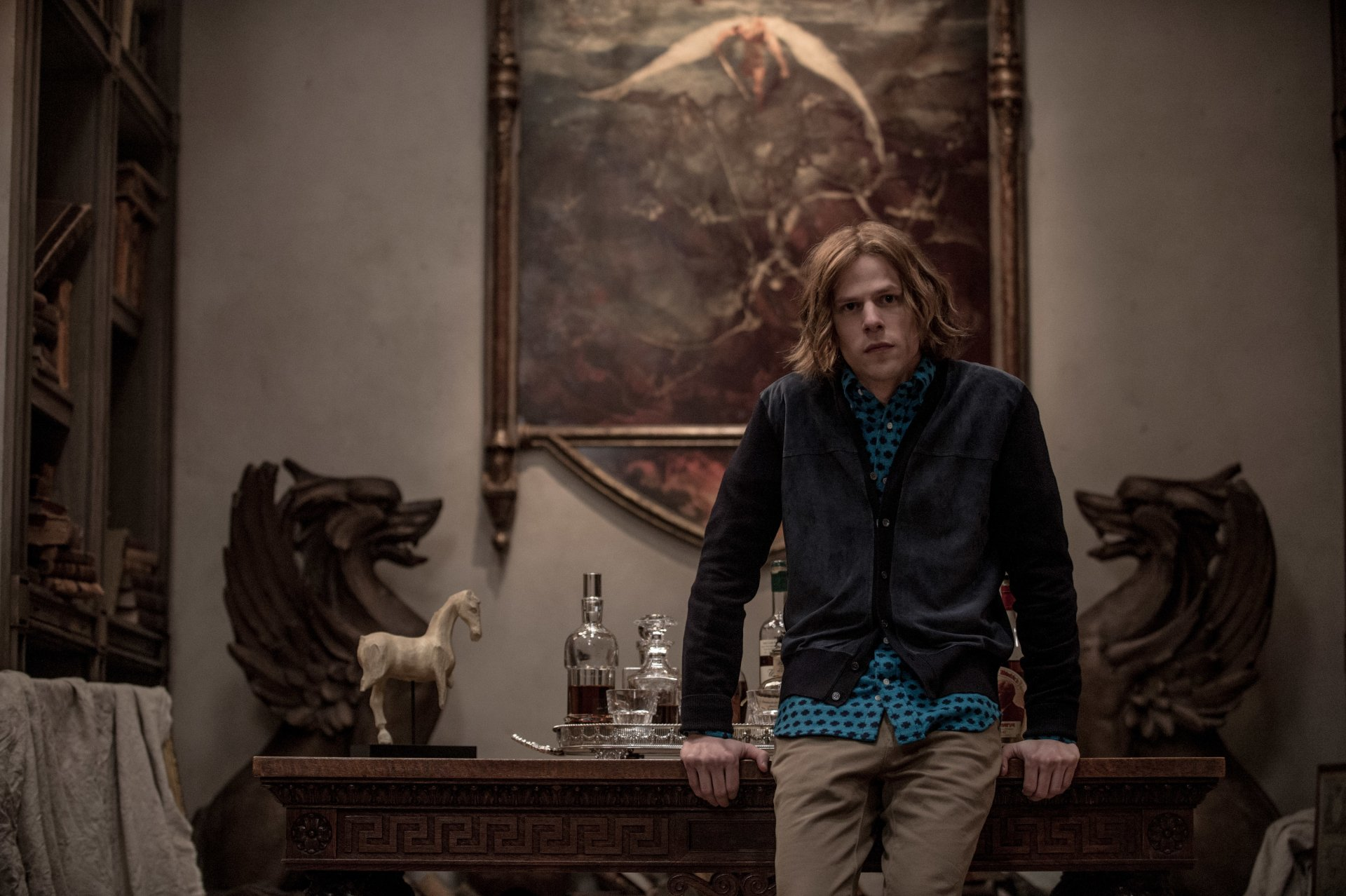 Movie - Batman v Superman: Dawn of Justice  Jesse Eisenberg Lex Luthor Wallpaper