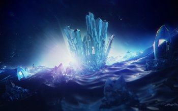 20 Crystal HD Wallpapers
