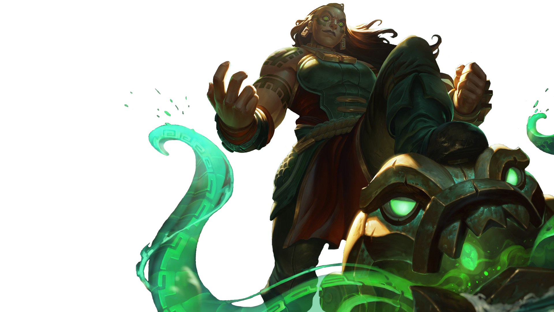 7 illaoi league of legends hd wallpapers background images