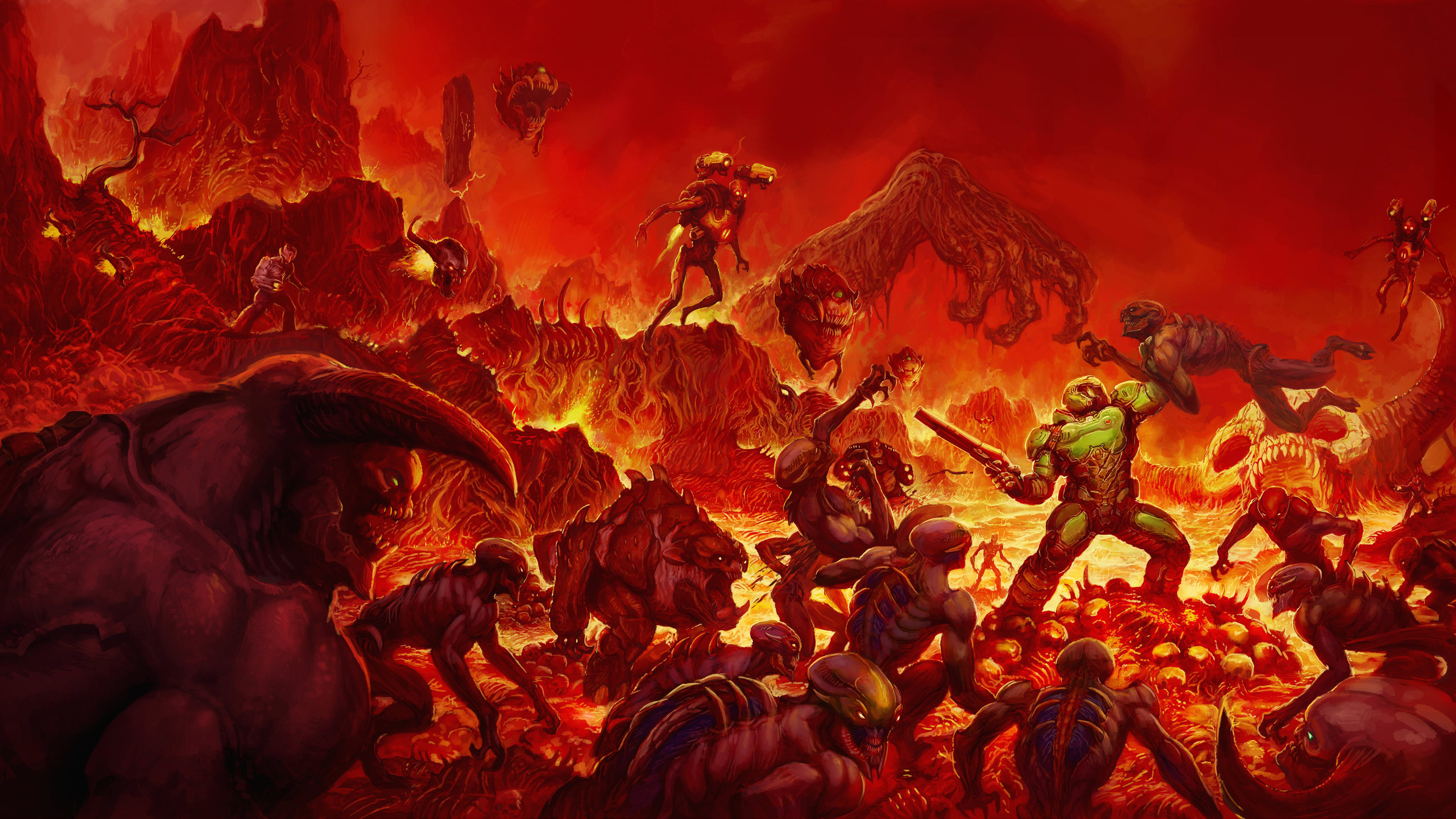 doom wallpaper 1366x768 -#main