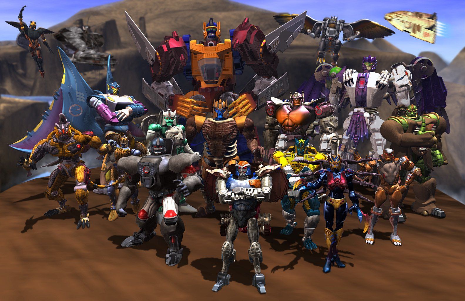 Tekenfilm - Beast Wars: Transformers  Robot Beast Wars Transformers Wallpaper