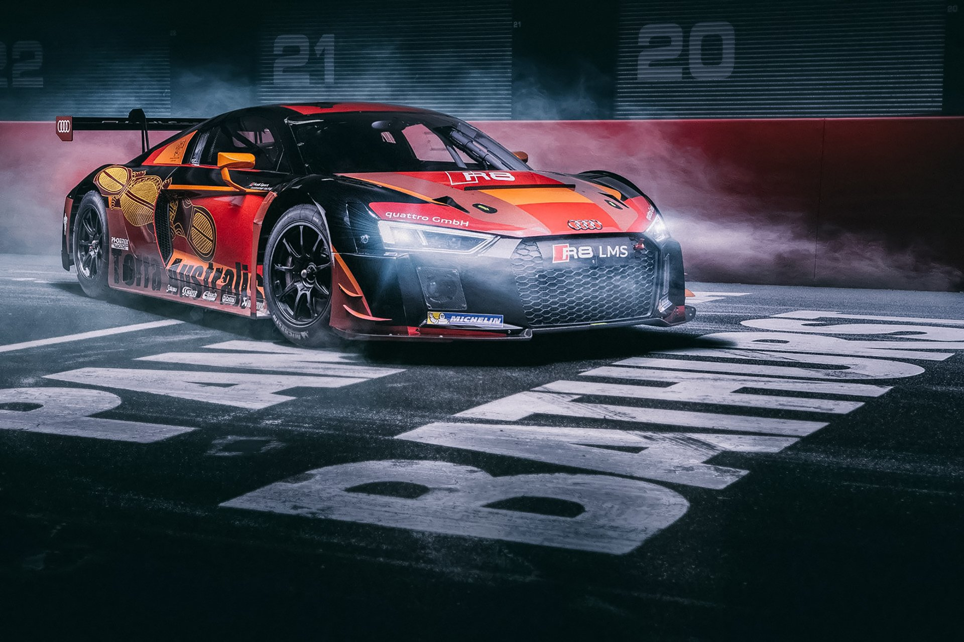 40 Audi R8 Lms Hd Wallpapers Background Images