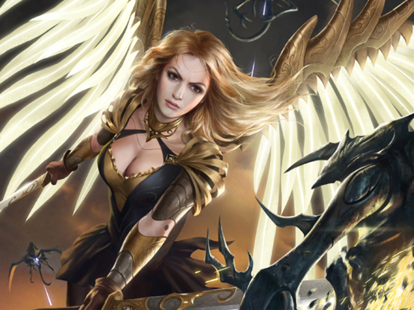 blonde gangbang angel of fantasy