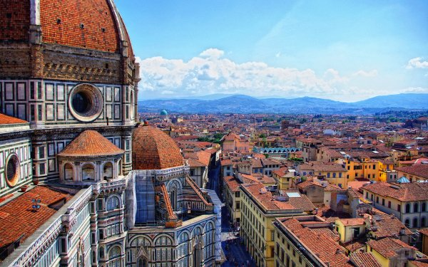 Man Made Florence Cities Italy City Cityscape Building Architecture HD Wallpaper | Background Image