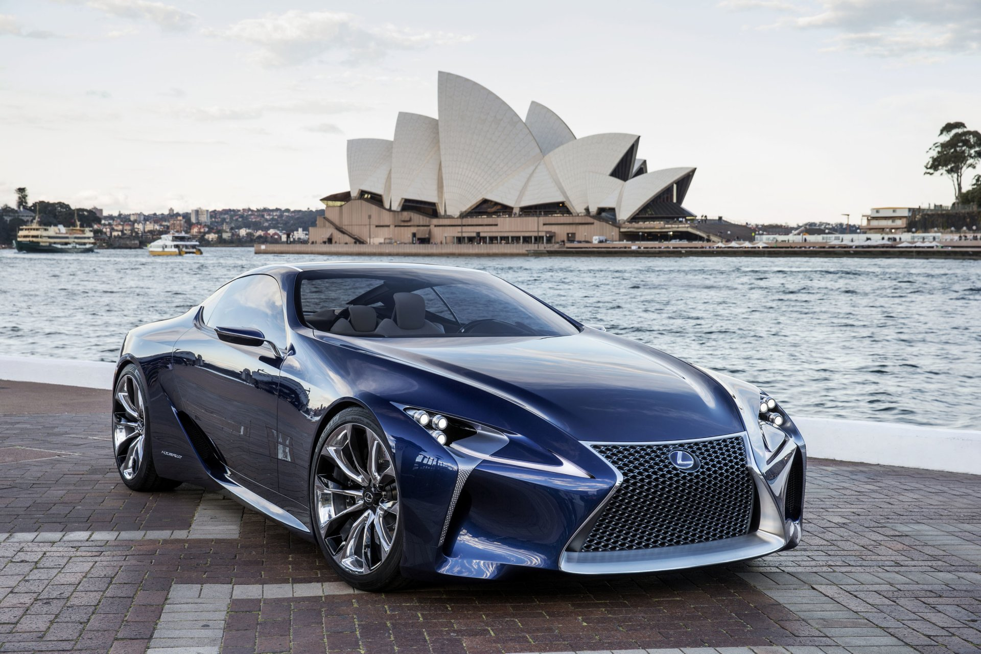 Black Lexus Lc 500 Wallpaper