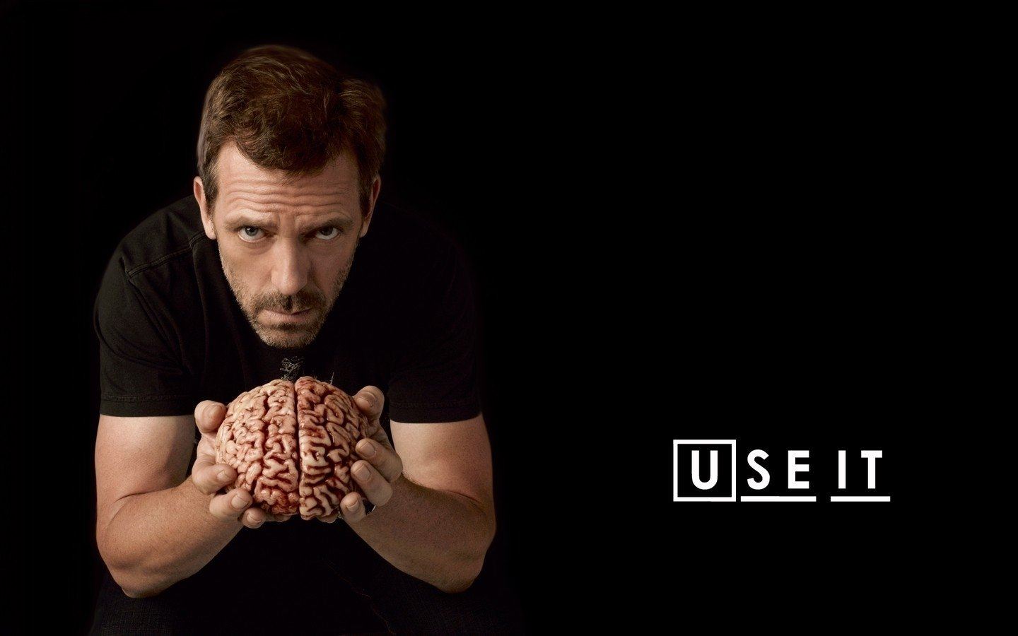 Dr House Says Use Your Brain Fondo De Pantalla And Fondo