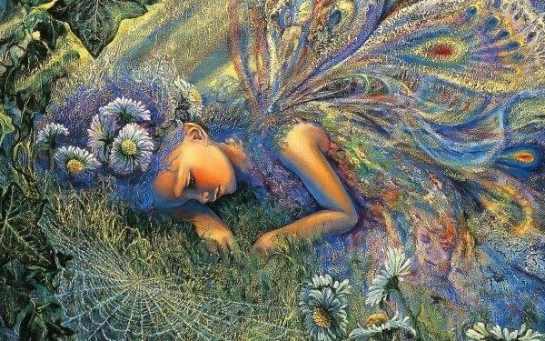 Artístico Fantasía Hada Colores Colorful Little Girl Fondo de pantalla HD | Fondo de Escritorio