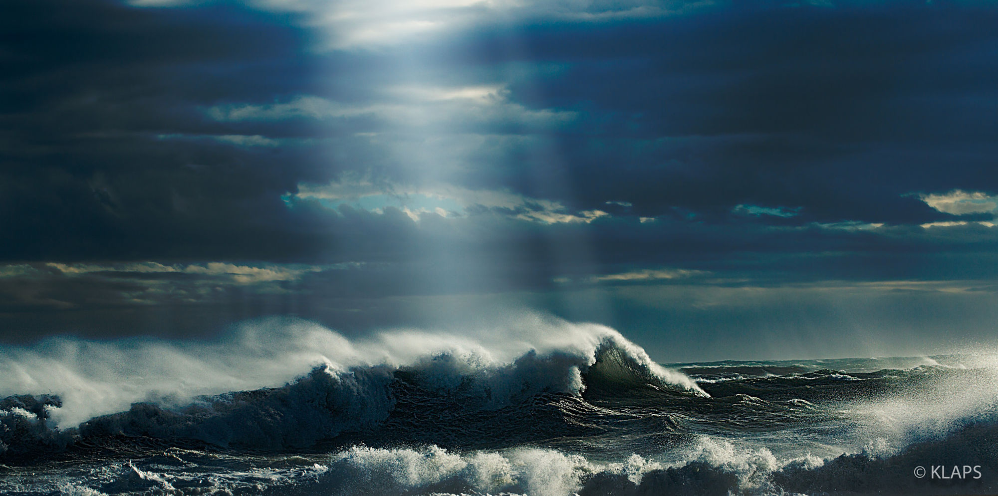 Sea Storm Wallpaper And Background Image 2000x995 Id