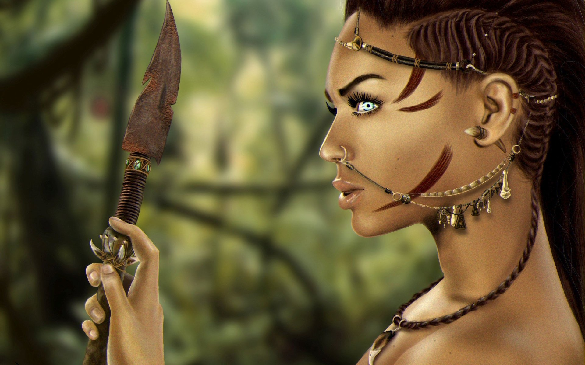 Fantasy amazon warrior full hd wallpaper and background for Amazon wallpaper