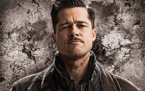 Movie Inglourious Basterds Brad Pitt HD Wallpaper   Background Image