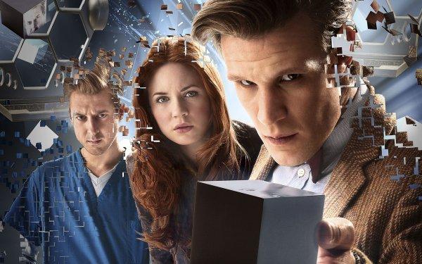 TV Show Doctor Who Amy Pond Rory Williams Matt Smith Karen Gillan Arthur Darvill HD Wallpaper | Background Image
