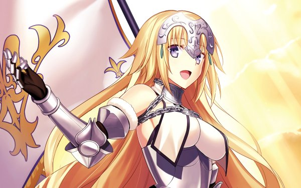 Anime Fate/Grand Order Fate Series Jeanne d'Arc Face Blonde Ruler Long Hair HD Wallpaper | Background Image