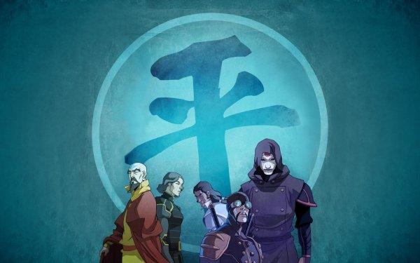 Anime Avatar: The Legend Of Korra Avatar (Anime) Lin Beifong Tenzin Amon HD Wallpaper | Background Image