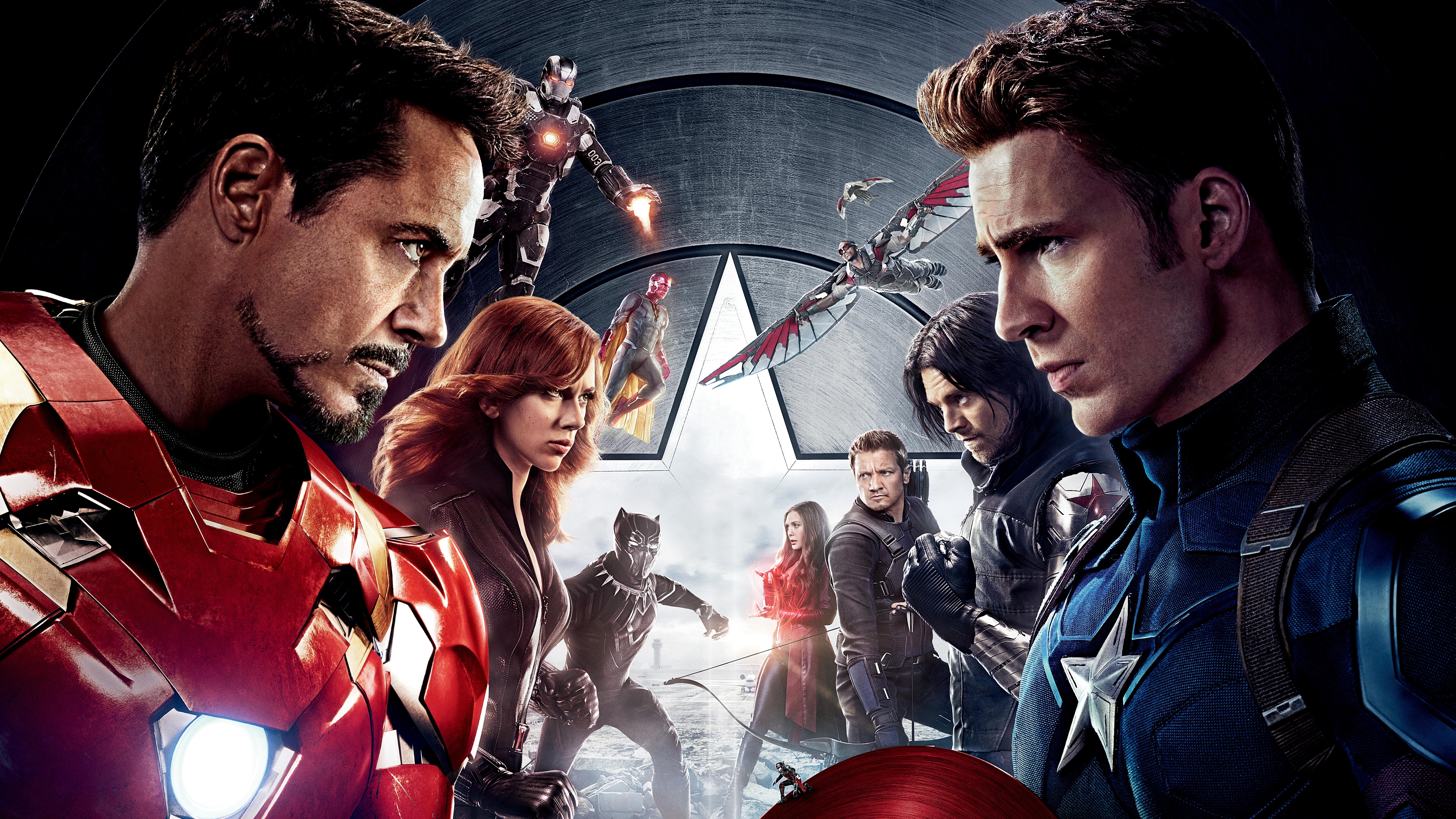 Capitán América Civil War 8k Ultra Fondo De Pantalla Hd