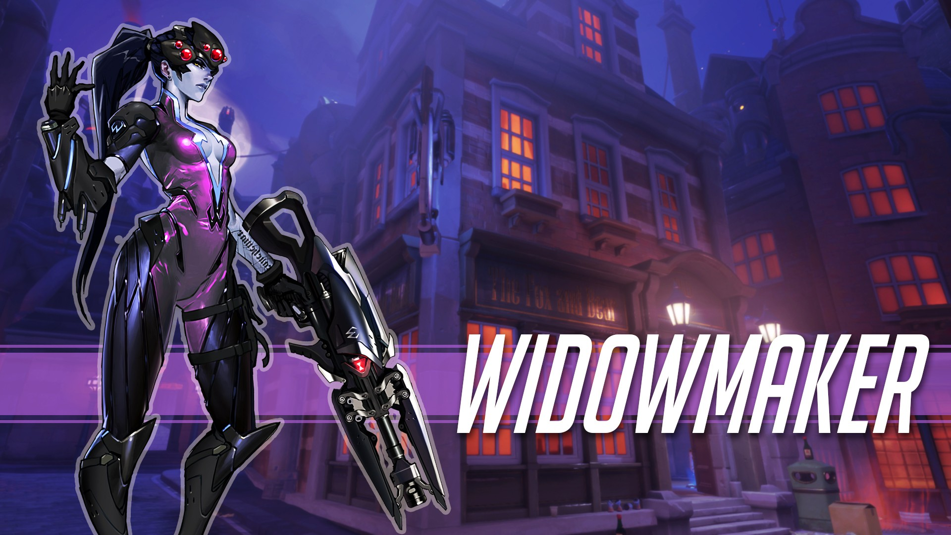 widowmaker overwatch wallpaper 1920x1080 - photo #44