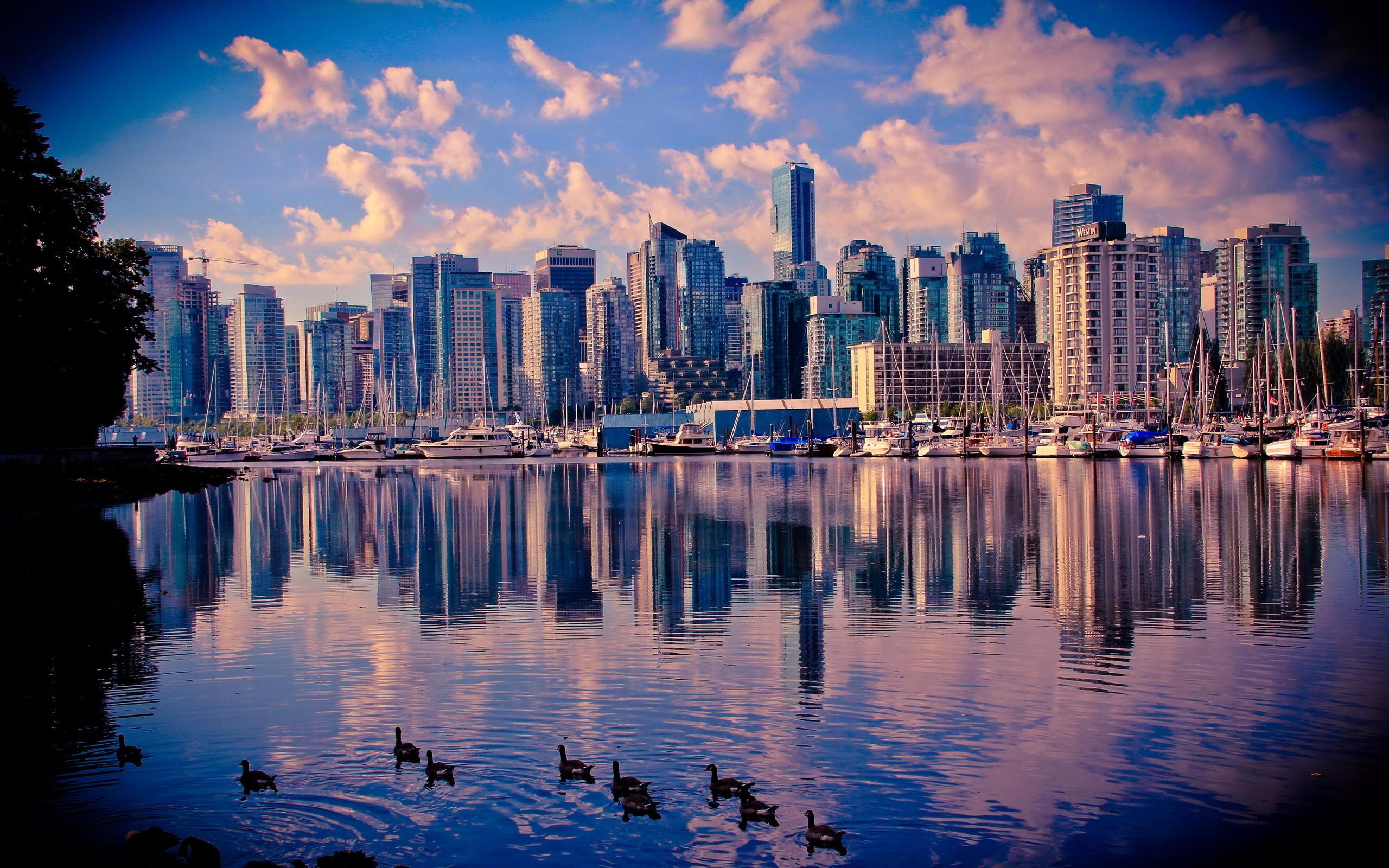 Обои дома, canada, vancouver, Канада, Cities. Города foto 16