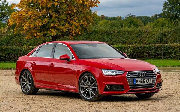 Véhicules Audi A4 Audi Red Car Voiture Audi A4 S Line Fond d'écran HD | Image