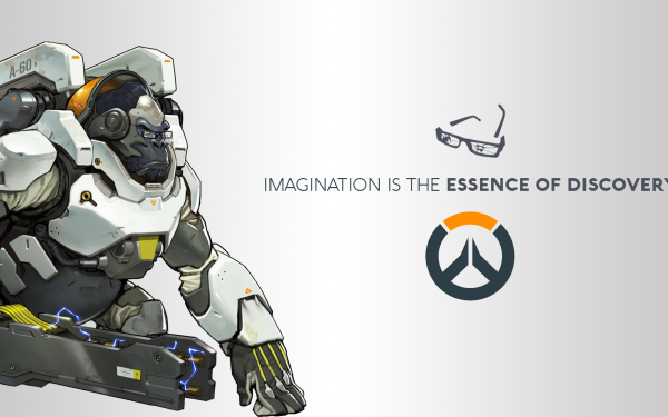 Video Game Overwatch Blizzard Entertainment Winston HD Wallpaper   Background Image