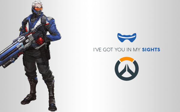 Video Game Overwatch Blizzard Entertainment Soldier: 76 HD Wallpaper   Background Image