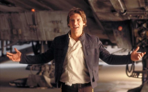 Movie Star Wars Harrison Ford Han Solo HD Wallpaper   Background Image