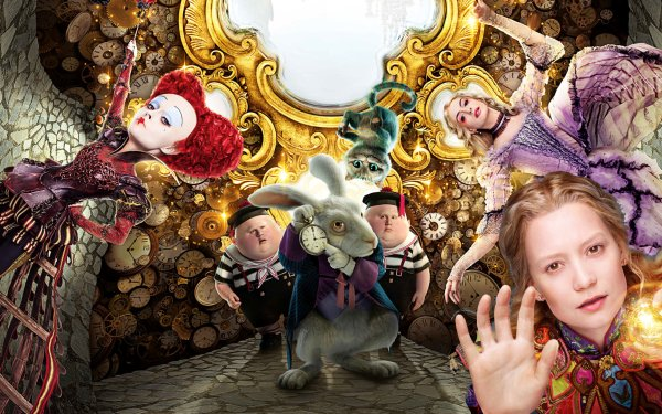 Movie Alice Through the Looking Glass (2016) Mia Wasikowska HD Wallpaper | Background Image