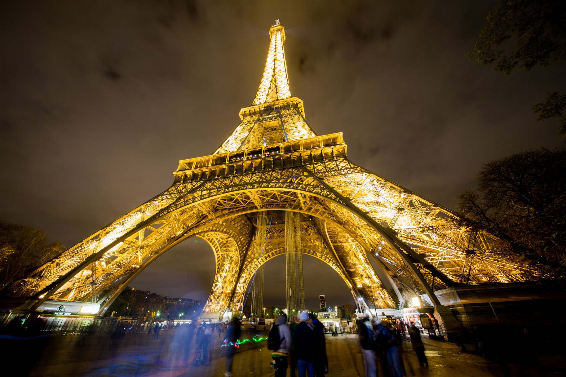 Torre Eiffel Fondo De Pantalla HD