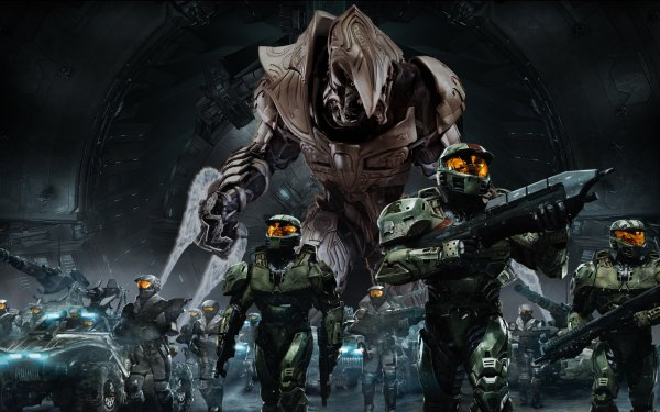 Video Game Halo Wars Halo HD Wallpaper | Background Image