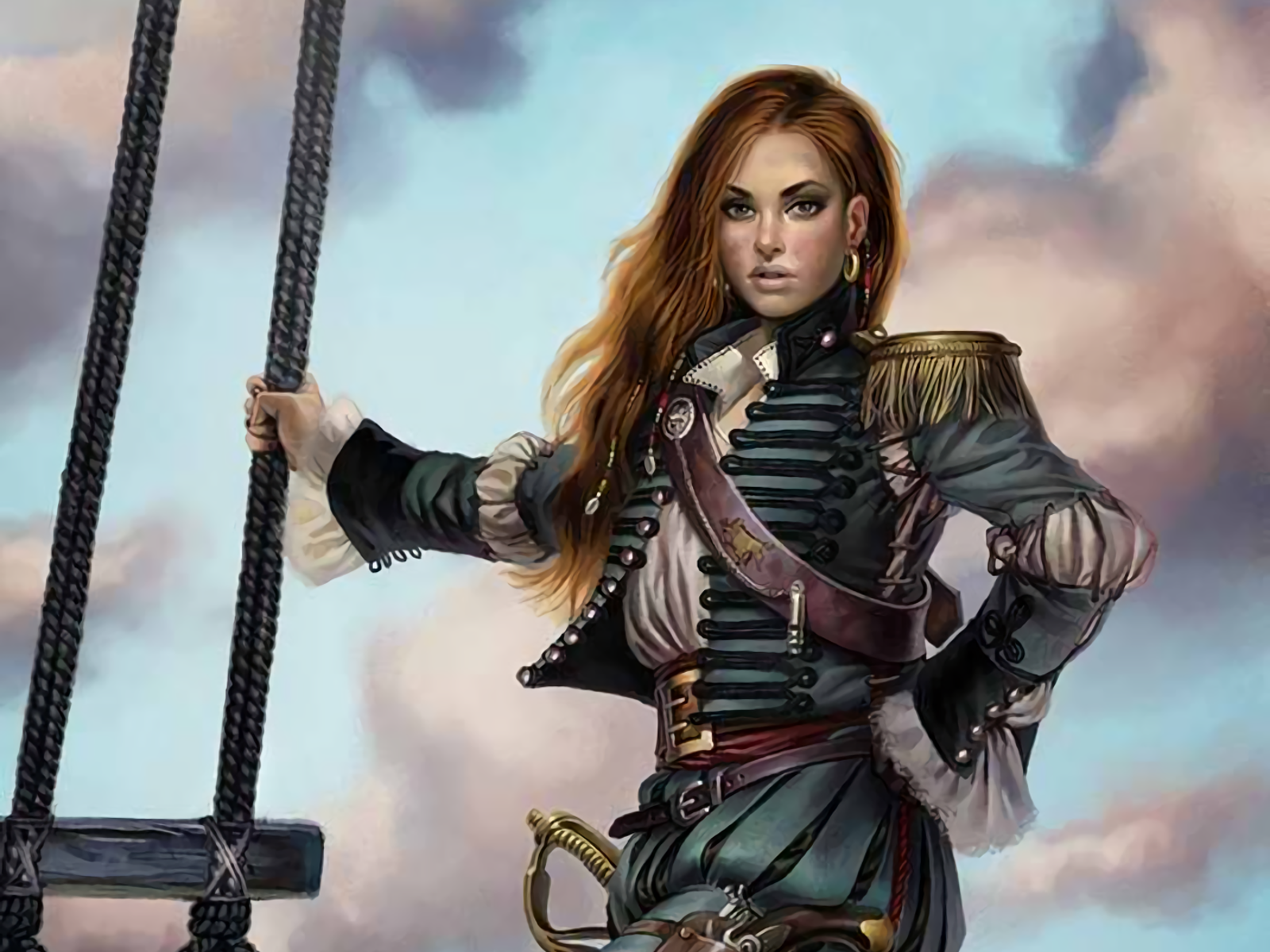 Are Fantasy pirate women healthy!