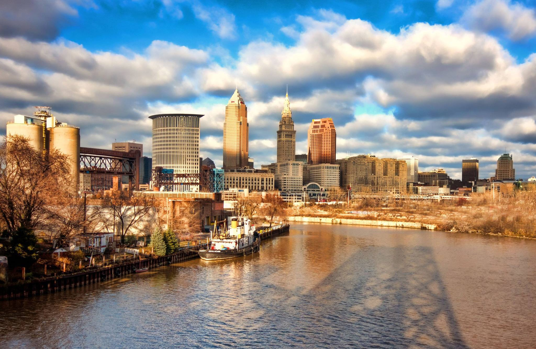 downtown cleveland ohio wallpaper - photo #10