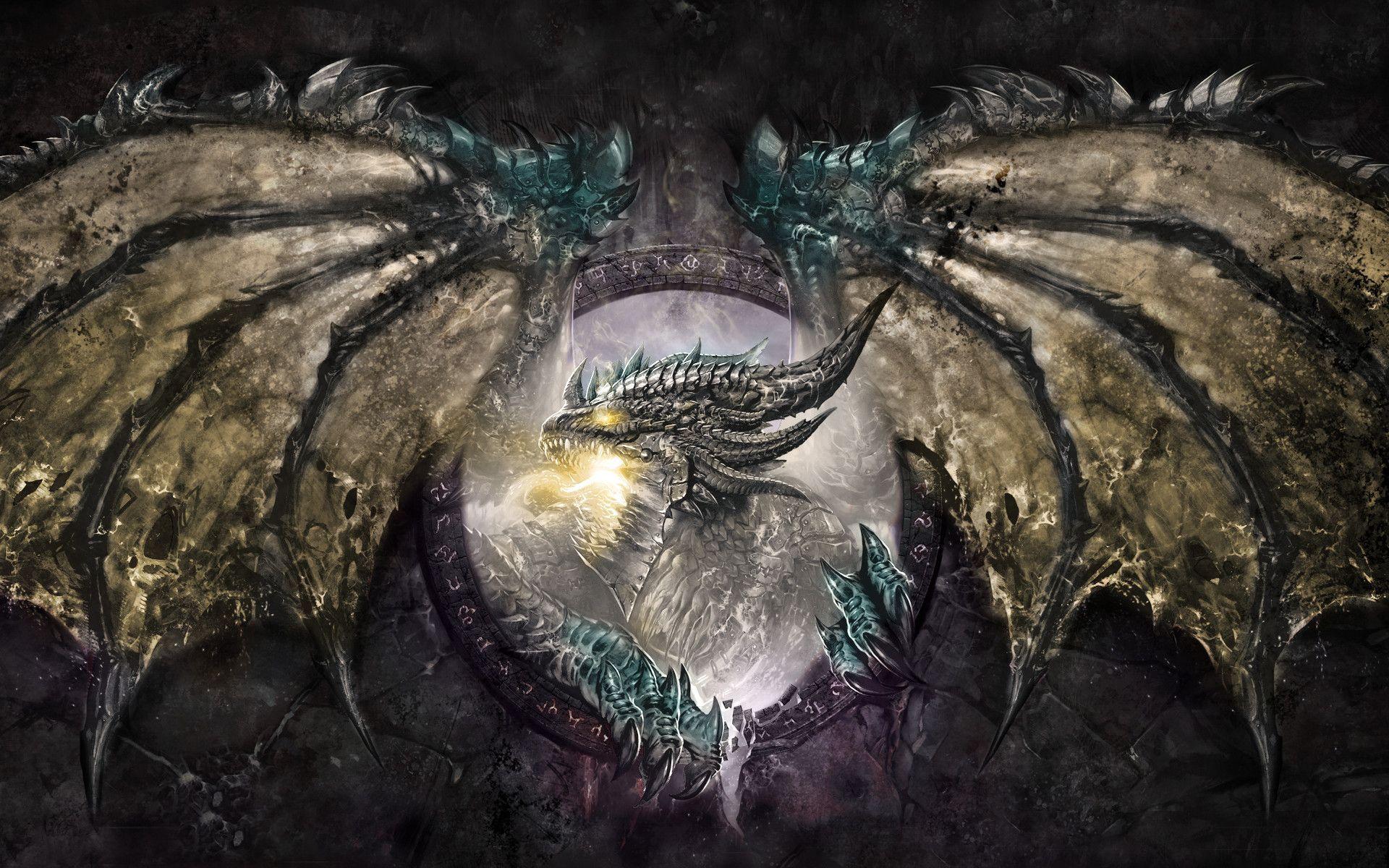 World of Warcraft Dragon Fond d'écran HD   Arrière-Plan   1920x1200   ID:699627 - Wallpaper Abyss