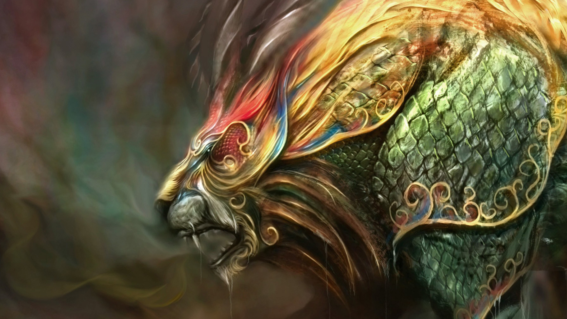 Fantasy Creature HD Wallpaper | Background Image