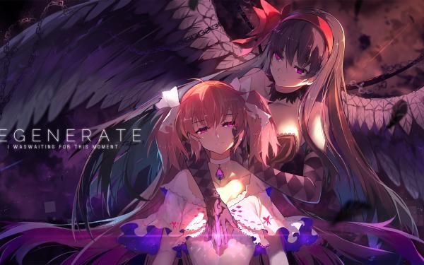 Anime Puella Magi Madoka Magica Madoka Kaname Homura Akemi HD Wallpaper | Background Image