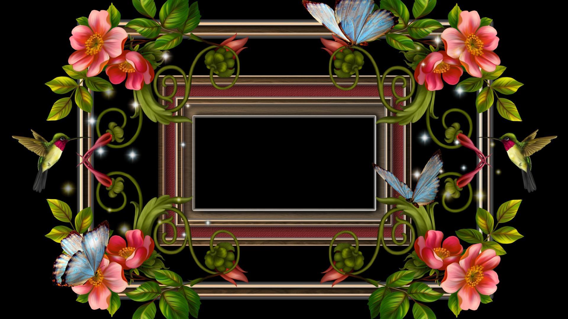 Flowers Photo Frame Hd - Flowers Healthy