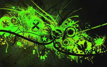 Abstract - Green Wallpapers and Backgrounds ID : 70155