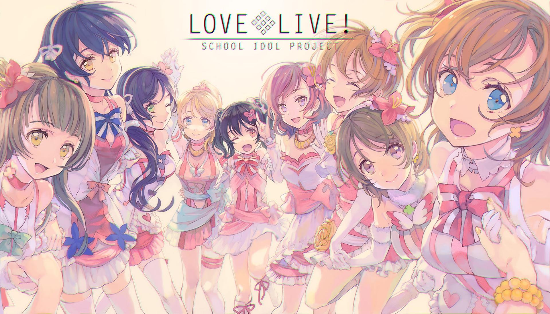 Love Live Hd Wallpaper Hintergrund 1920x1097 Id707187