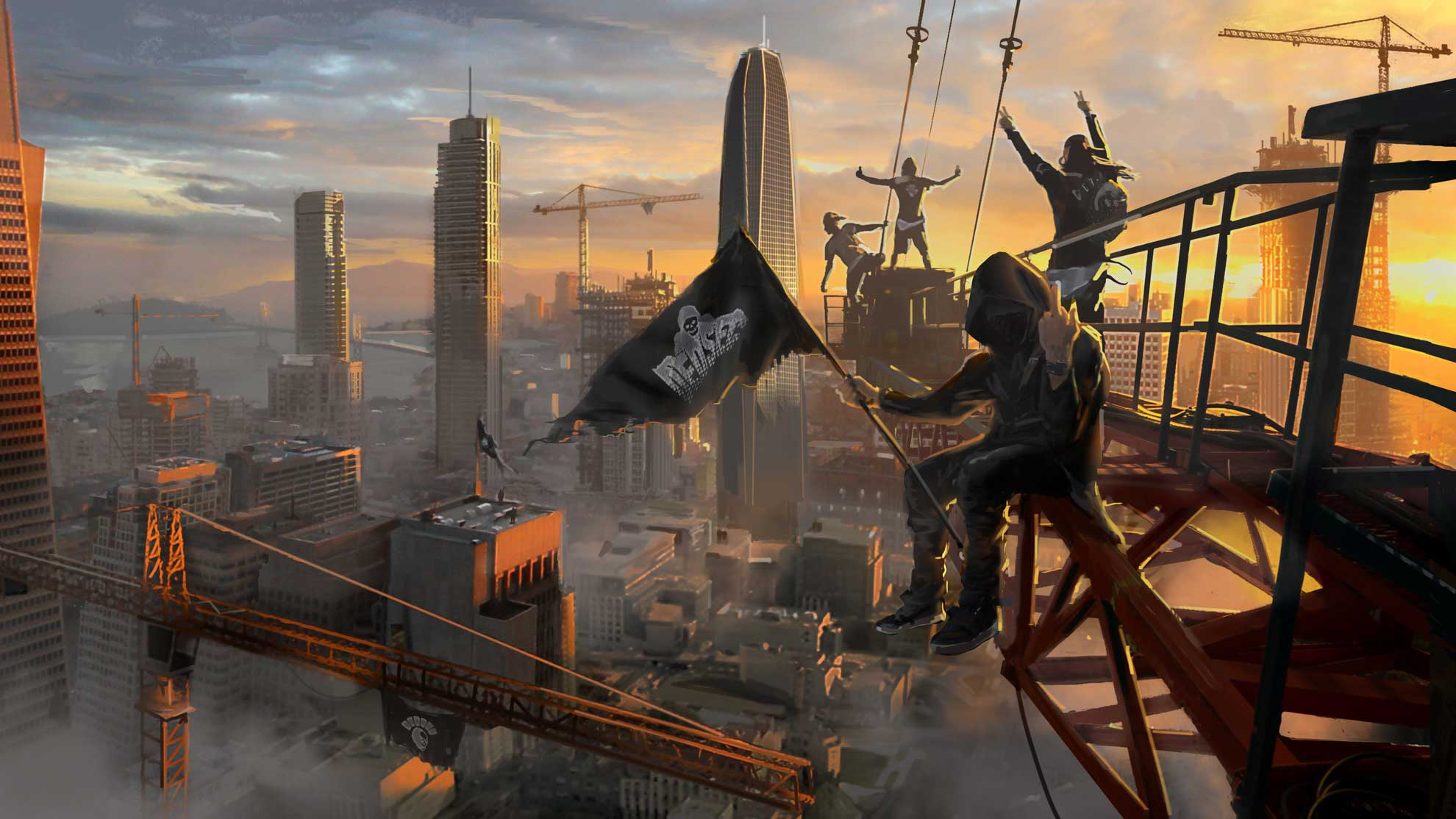 152 Watch Dogs 2 Hd Wallpapers Background Images Wallpaper Abyss